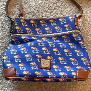 Brand New Dooney & Bourke Kansas Jayhawk purse